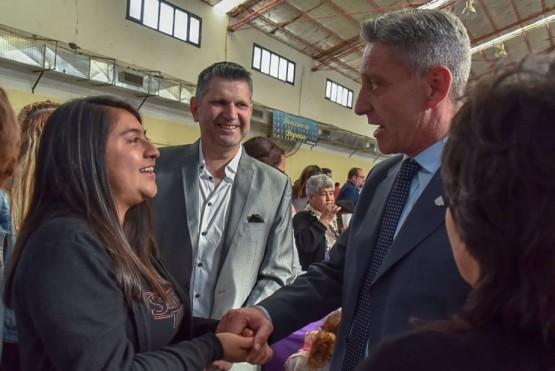 Arcioni acompaño la asunción del Intendente Marcelo Limanieri