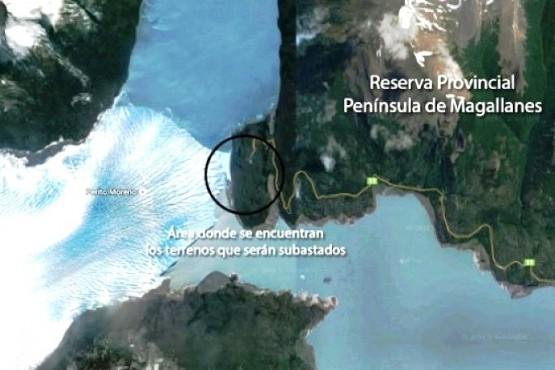 El lugar es un sector privilegiado dentro del PN Los Glaciares.