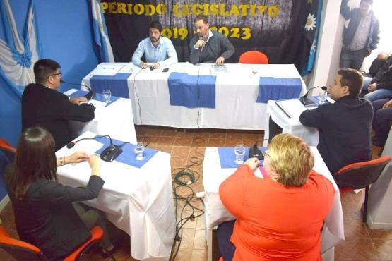 Belli preside el HCD en Río Turbio.