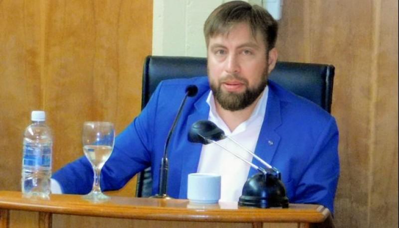 El concejal del Frente Patriótico Leandro Espinosa.