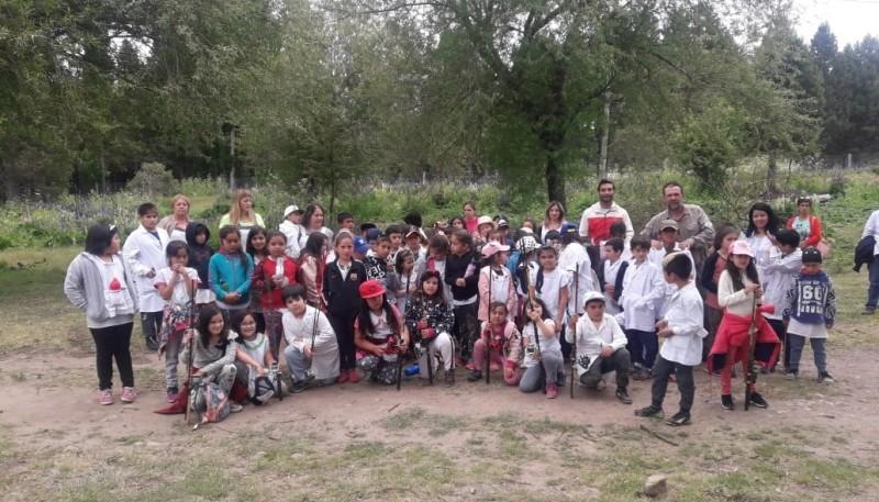 Secretaría de Pesca realizó siembra de alevines en Corcovado