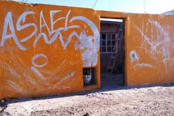 Vivienda donde fue encontrado sin vida Juan Fuentes.