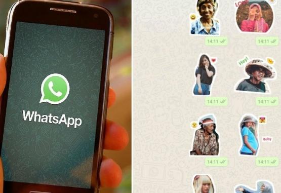 Imagen ilustrativa de los stickers que se pueden crear para WhatsAapp.