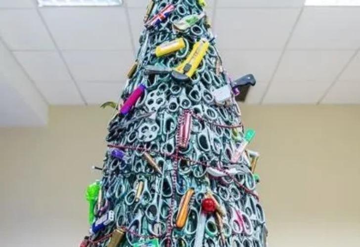 Las imágenes de este árbol comenzaron a viralizarse rápidamente.