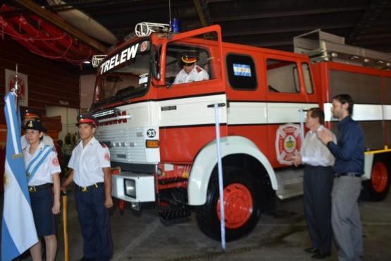 Once nuevo bomberos para Trelew