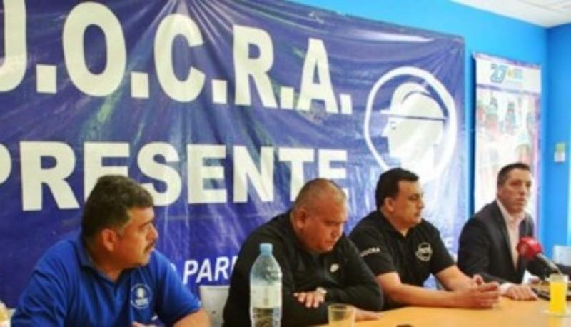 Los dirigentes manifestaron su disconformidad por el rechazo al proyecto de la central de cargas.