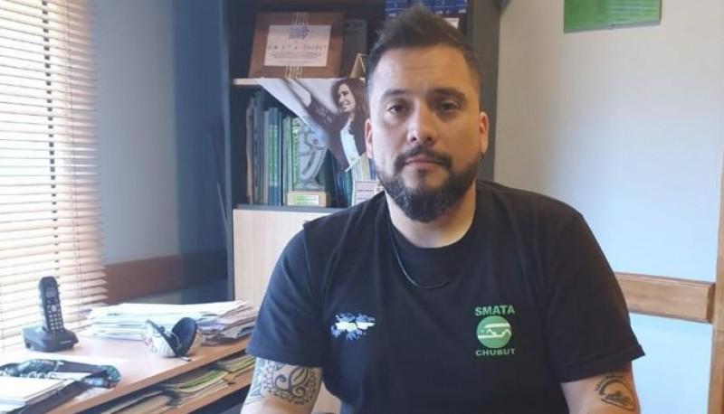 El secretario Adjunto del Sindicato de Mecánicos y Afines del Transporte Automotor, Diego Agostinelli.