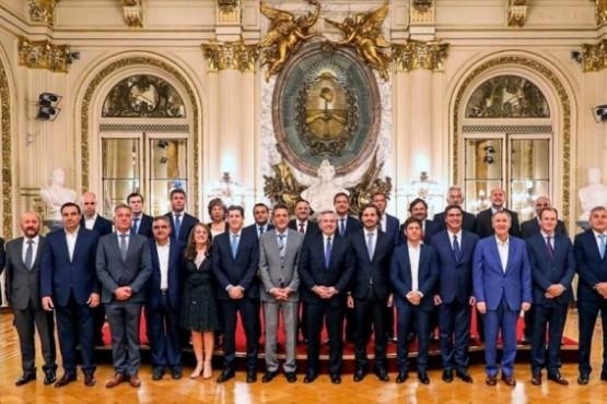 Mariano Arcioni participó del encuentro con el presidente Alberto Fernández.
