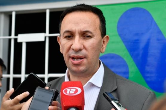 Adrián Maderna, intendente de Trelew.
