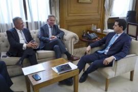 Arcioni se reunió con el nuevo Ministro de Interior de la Nación
