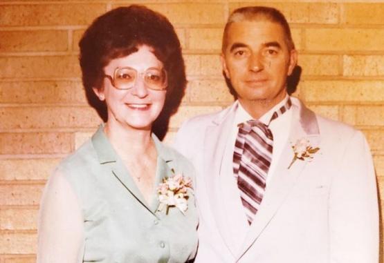 Les y Freda Austin fueron inseparables en los últimos 70 años. Foto: www.nydailynews.com