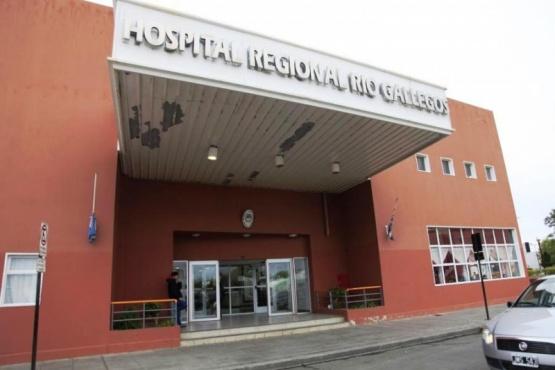 El hombre quedó internado en la sala de observaciones del nosocomio local.
