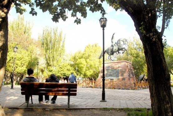 Plaza San Martín, símbolo de la ciudad.