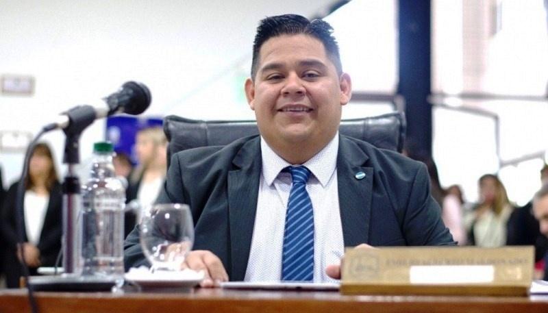 El concejal Emilio Maldonado.