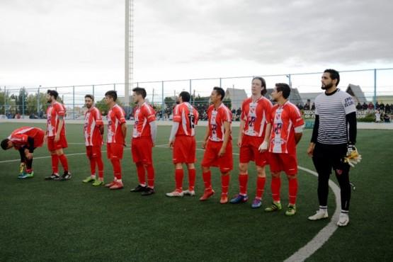 Deportivo Cristal preparado para el partido (Foto: Fernanda Capadona).