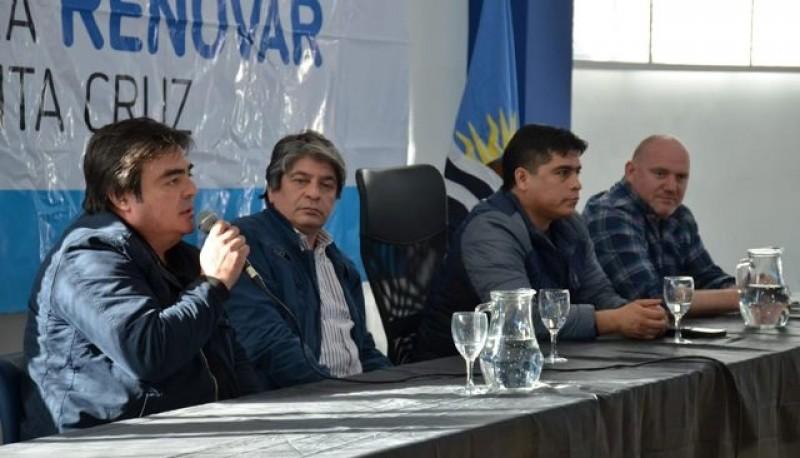 El diputado por el Pueblo de Pico Truncado, Miguel Farías (SER-Frente de Todos),