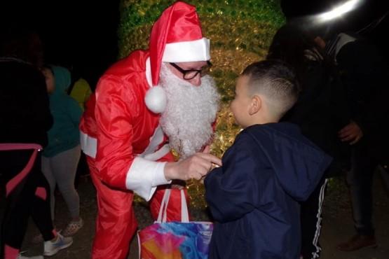 El Papá Noel de Río Gallegos.