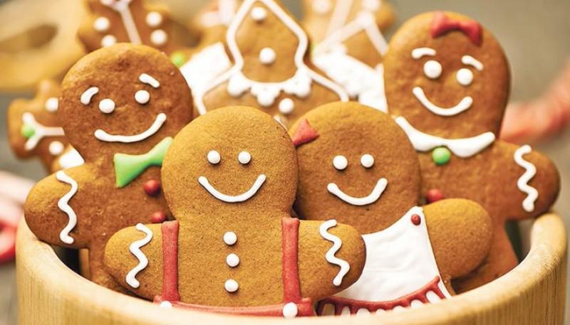 Las reconocidas galletas de navidad.