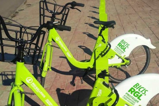 Las bicicletas de la Costanera (Fotos compartidas por Emanuel Esteban Eduardo).