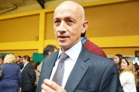 Fernando Cotillo, intendente de Caleta Olivia.