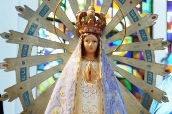 La imagen de la virgen permaneció 37 años en Gran Bretaña.