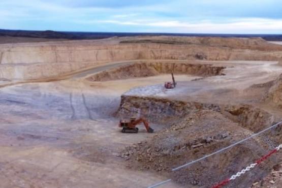 Minería en la provincia.