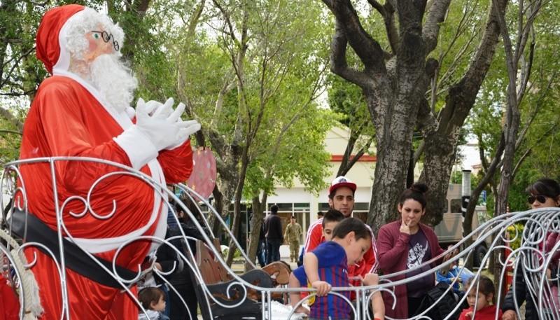 La familia disfruta de las actividades (Foto: F.Capadona).