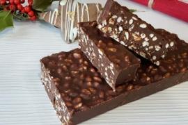 Para esta navidad: Las recetas del turrón de chocolate y mantecol
