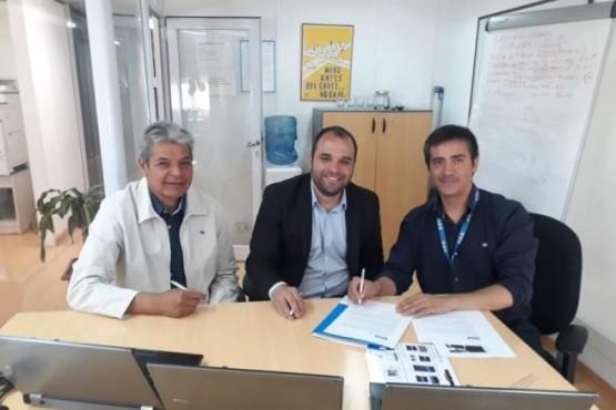El director Provincial de Educación Técnico Profesional, Rodrigo Gojan