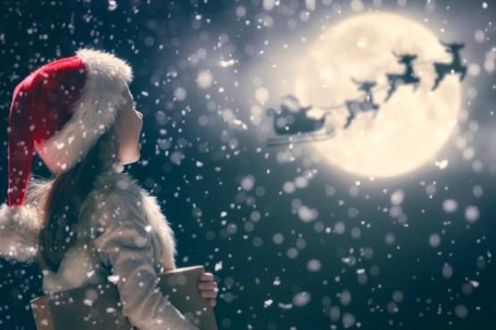 Renos de Papá Noel. (Imagen ilustrativa)