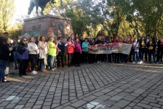 Río Gallegos cantó al unisono con el país