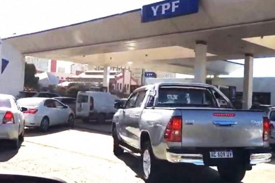 La polémica Tasa Vial es del 2% por litro de combustible.