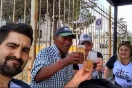 Juntan alimentos para celebrar la Navidad con las personas en situación de calle