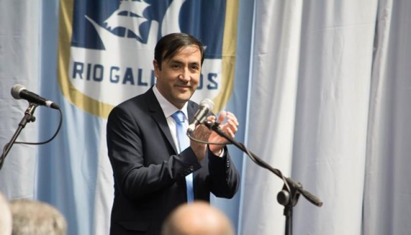 El intendente de Río Gallegos, Pablo Grasso.