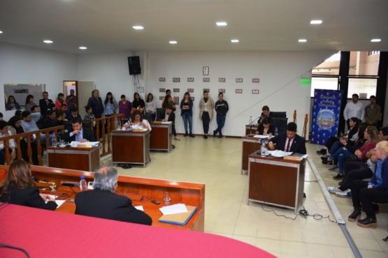 Recinto del Concejo Deliberante de Río Gallegos.