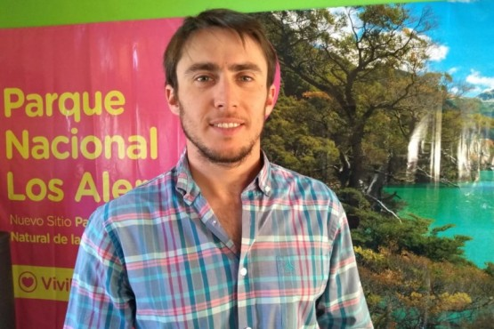 El Secretario de Turismo de Esquel, Mariano Riquelme