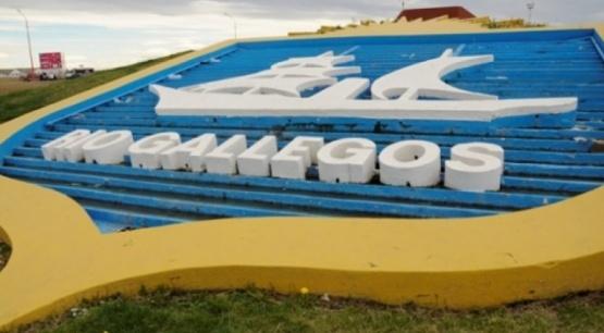 Escudo de Río Gallegos.