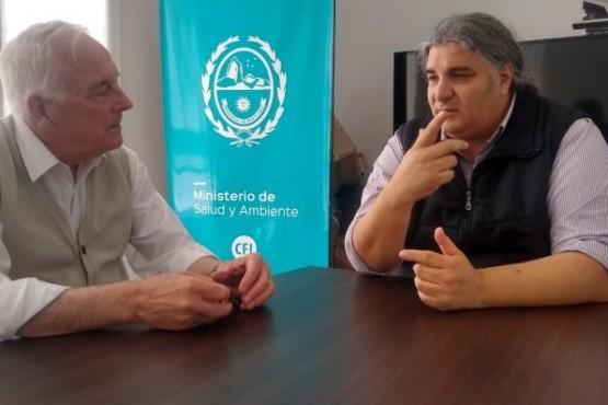 Garzón se reunió con el nuevo Ministro de Salud de Santa Cruz