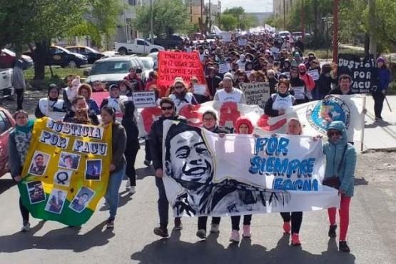 Marcha por Facundo Díaz.