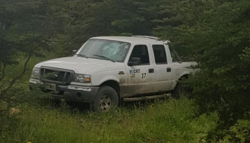 Camioneta de YCRT (El Que Calla Otorga)