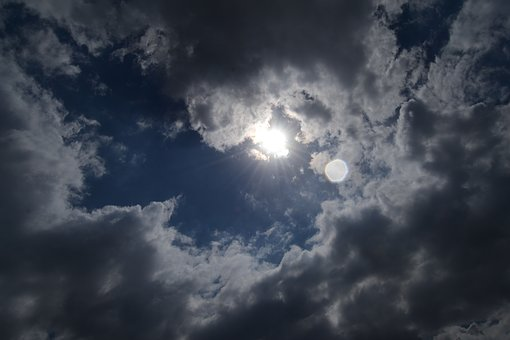 Nublado en las localidades santacruceñas.