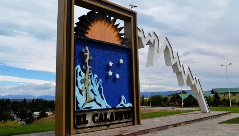 La ciudad de El Calafate.