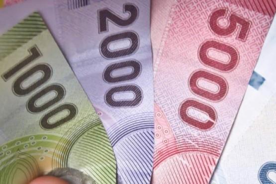 Pesos chilenos.