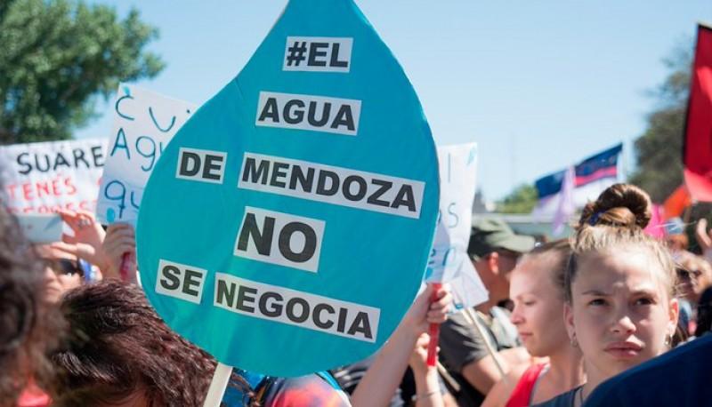 Marcha en Mendoza.