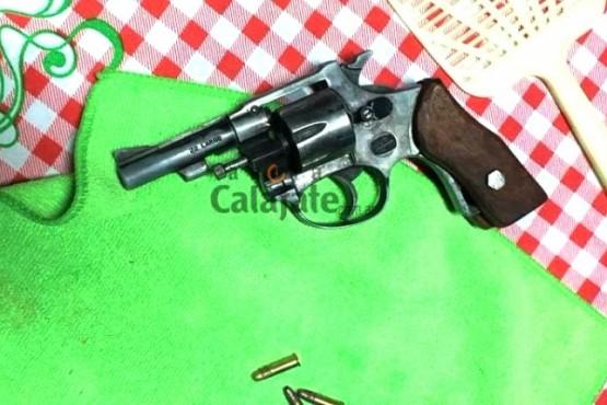 Revolver calibre 22.