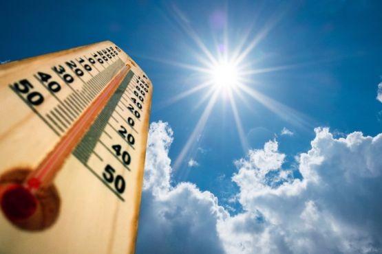 Mucho calor en las ciudades chubutenses.