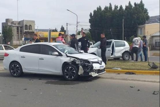 El siniestro vial fue a la altura de calle Vélez Sarsfield (Foto: C.Robledo).