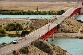 Se realizará la reparación del puente sobre el Río Santa Cruz