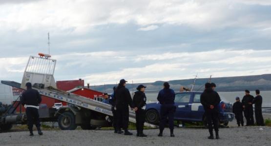Personal policial en el lugar. (F.C)
