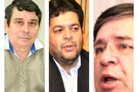 Carlos Ziehlke, Ítalo Bringas y Ernesto Cruz, algunos de los funcionarios nacionales entre 2016 y 2019.